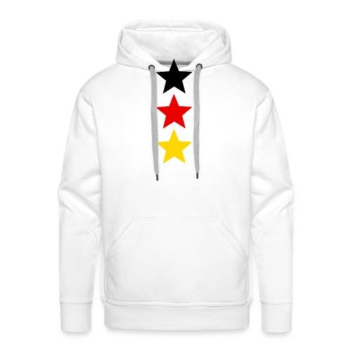 3 Sterne Deutschland #1 - Männer Premium Hoodie