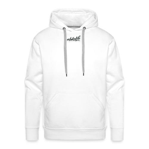 bikelife sticker - Sweat-shirt à capuche Premium pour hommes
