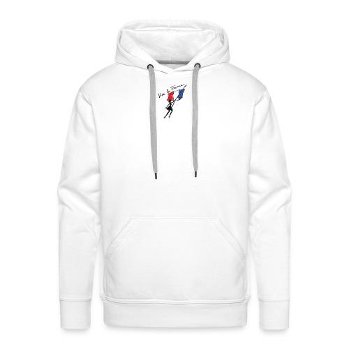 vive la france - Sweat-shirt à capuche Premium pour hommes
