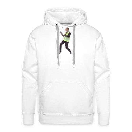 macron GJ 8bit - Sweat-shirt à capuche Premium pour hommes