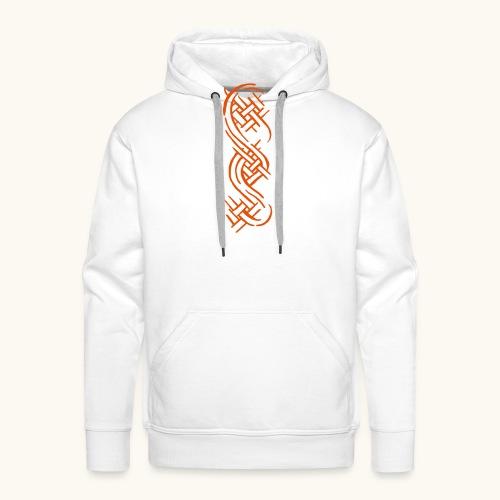 Tribals Tattoo Design Keltische Knoten Geschenk - Sweat-shirt à capuche Premium pour hommes