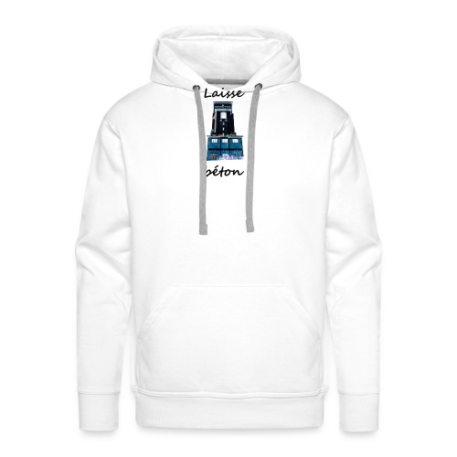 laisse_b--ton-png - Sweat-shirt à capuche Premium pour hommes