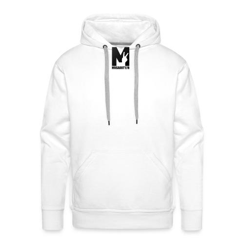 logo texte png - Sweat-shirt à capuche Premium pour hommes