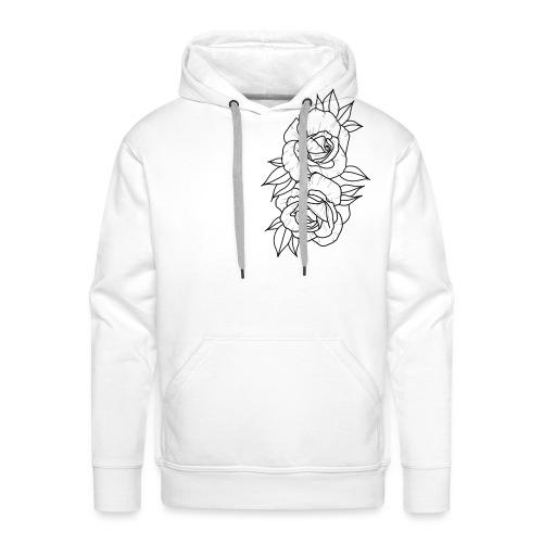 Wild roses - Men's Premium Hoodie