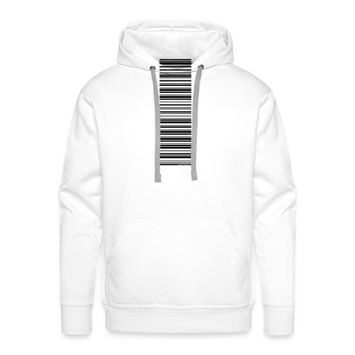 Barcode-T-Shirt Volleyballer - Männer Premium Hoodie
