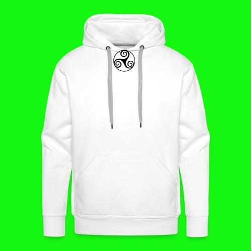 celtic-zen - Sweat-shirt à capuche Premium pour hommes