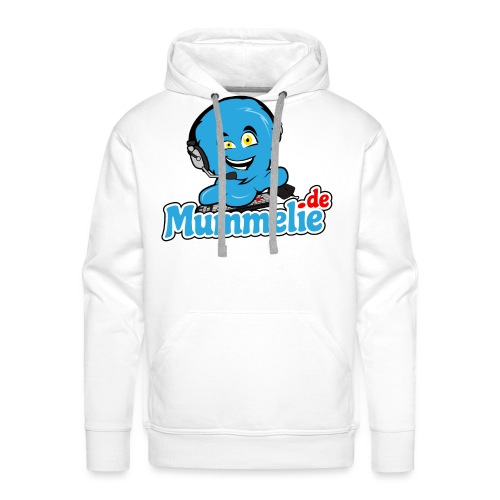 blau komplett übereinander - Männer Premium Hoodie