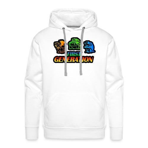 Collection Pocket Monster First Generation !!! - Sweat-shirt à capuche Premium pour hommes