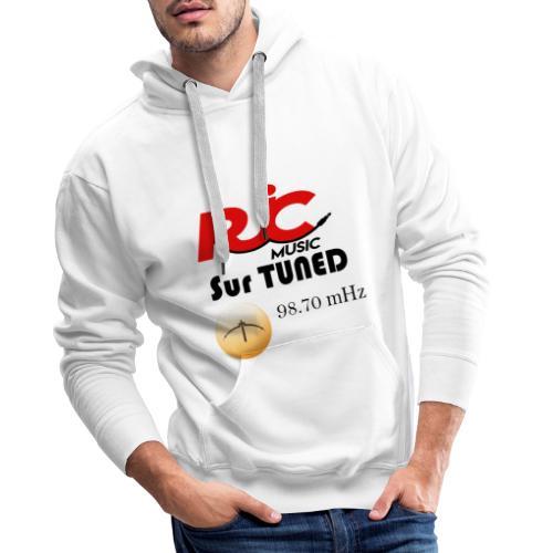 RJC sur TUNED - Sweat-shirt à capuche Premium pour hommes