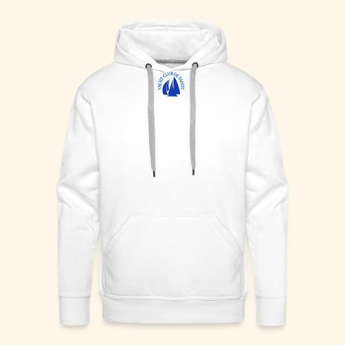 yacht club de tahiti logo - Sweat-shirt à capuche Premium pour hommes