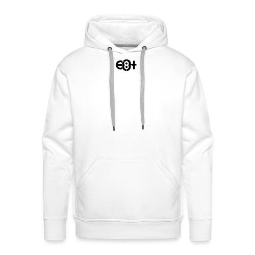 eight - Sweat-shirt à capuche Premium pour hommes