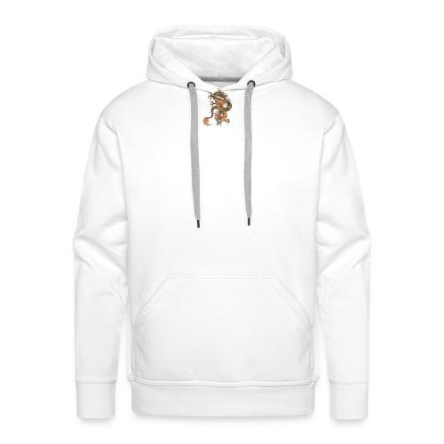 Dragon - Sudadera con capucha premium para hombre
