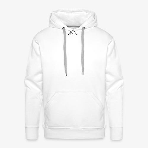 Logo Ice - Sweat-shirt à capuche Premium pour hommes