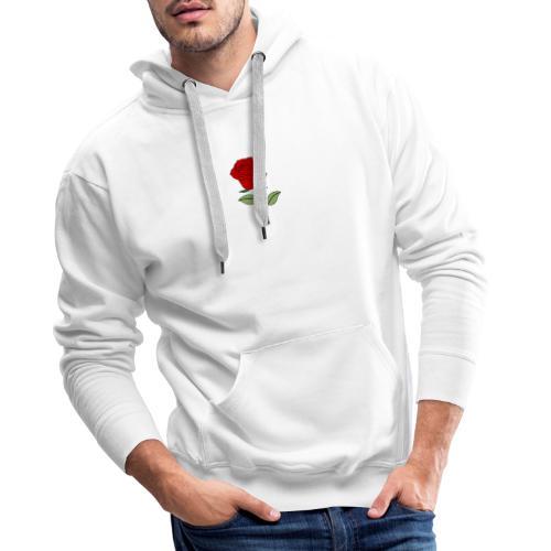 Red Rose - Mannen Premium hoodie