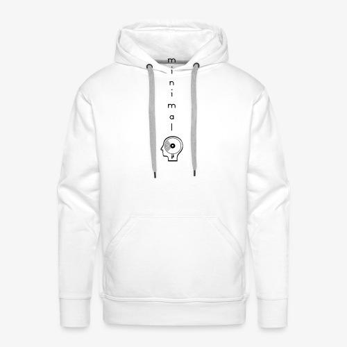 Minimal Labor Ost Logo vertikal - Männer Premium Hoodie