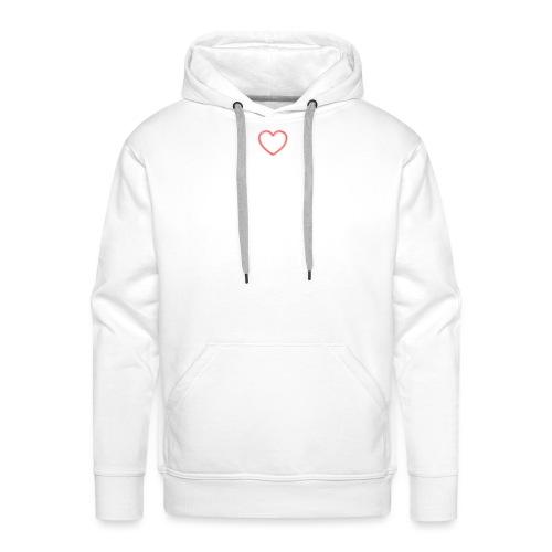 heart jpg - Männer Premium Hoodie