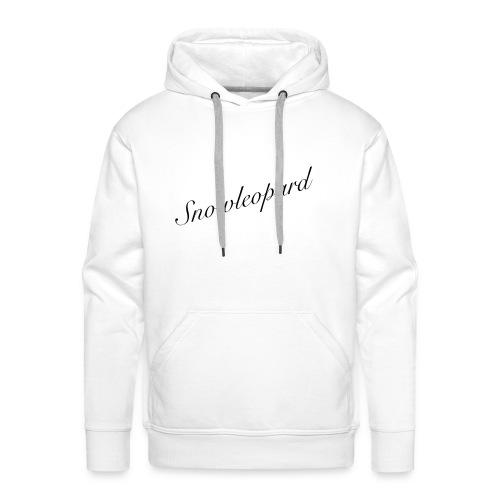 snowleopard - schneeleopard/ Wintergeschenk - Männer Premium Hoodie