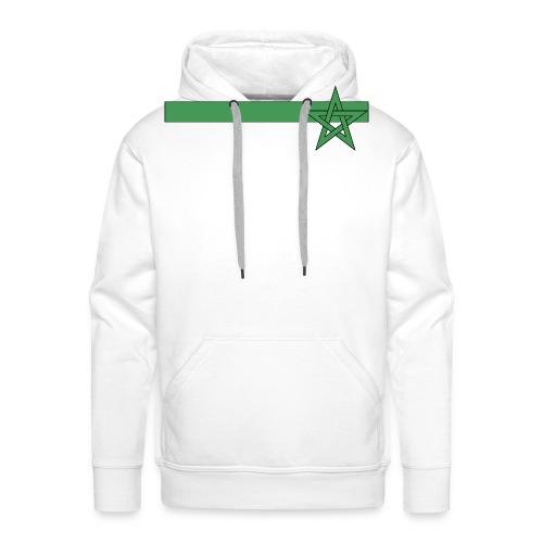 T-shirt Maroc - Sweat-shirt à capuche Premium pour hommes