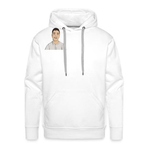 mascotte Artek png - Sweat-shirt à capuche Premium pour hommes