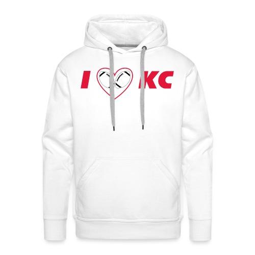 I love KC - Männer Premium Hoodie