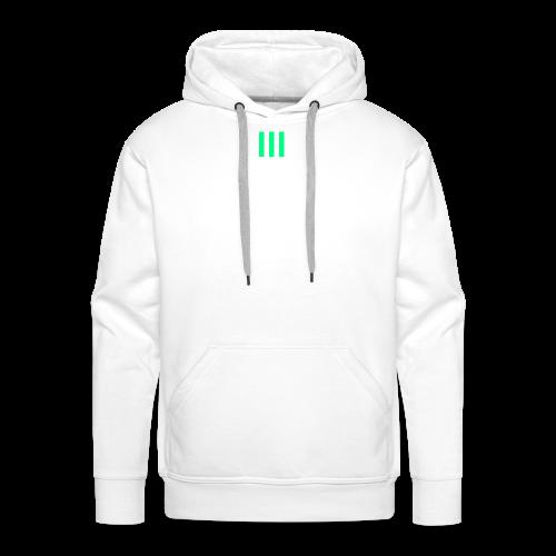 III Logo - Men's Premium Hoodie