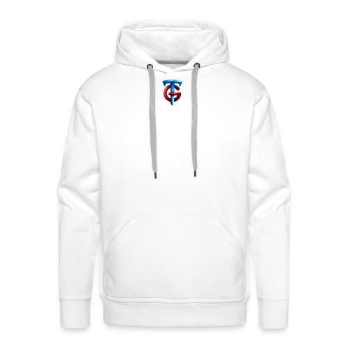 tg logo png - Men's Premium Hoodie