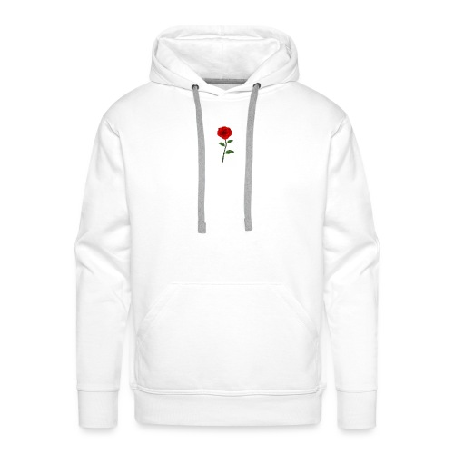 rose - Bluza męska Premium z kapturem