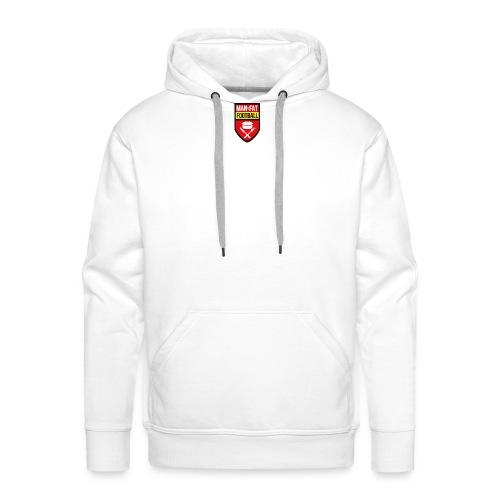 ManvFat FC Badge png - Men's Premium Hoodie