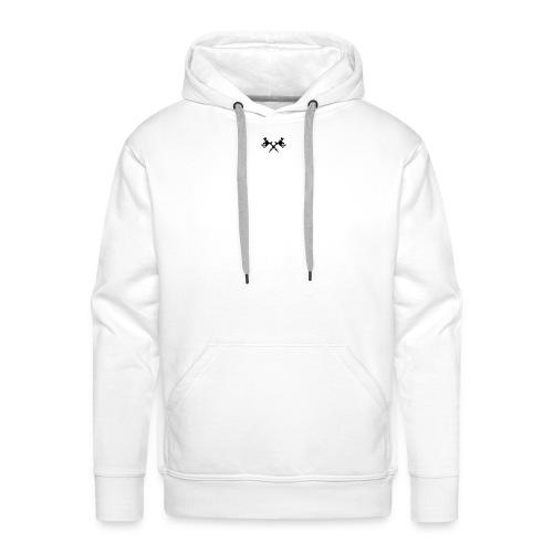TATTOO GUN - Sweat-shirt à capuche Premium pour hommes