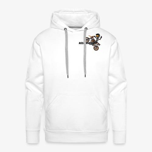 Vêtement RessWheel - Sweat-shirt à capuche Premium pour hommes