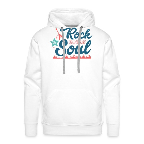 Rock Heals The Soul - Men's Premium Hoodie