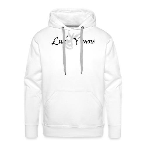 Lux' Vivens / Logo Mixte - Sweat-shirt à capuche Premium pour hommes