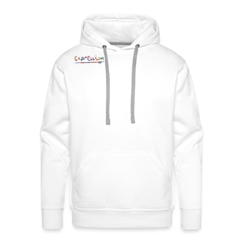 Expression typography - Men's Premium Hoodie