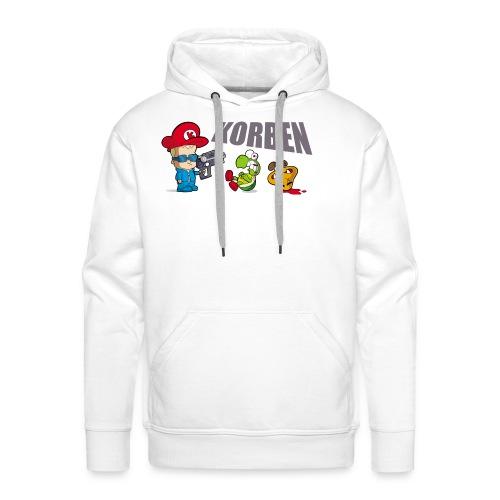 korben 2 dd orig2 - Sweat-shirt à capuche Premium pour hommes
