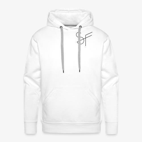 SMAT FIT SF white homme - Sudadera con capucha premium para hombre