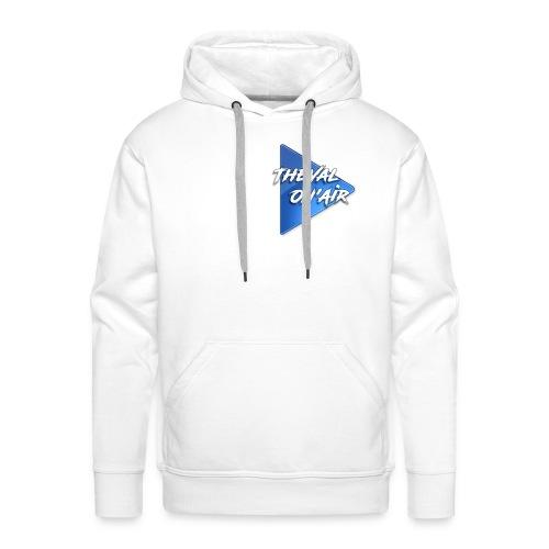 Logo TheVal On'Air - Sweat-shirt à capuche Premium pour hommes