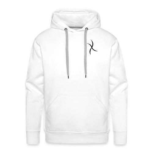 X apparel - Felpa con cappuccio premium da uomo