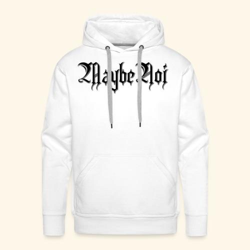 MaybeNoi Design - Männer Premium Hoodie