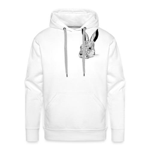 Bunny - Sweat-shirt à capuche Premium pour hommes