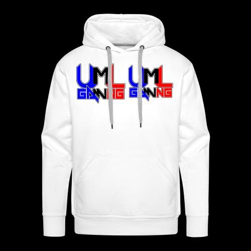 uml gaming Logo - Men's Premium Hoodie