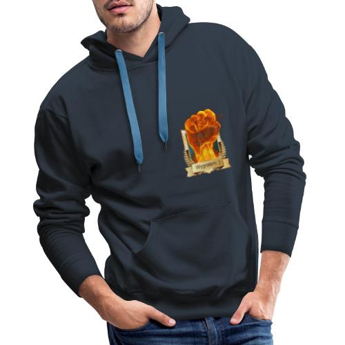 Zrobiłem to - Bluza męska Premium z kapturem