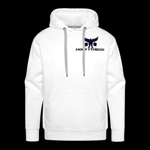 Logo 1 Holy fitness nouvelle génération - Sweat-shirt à capuche Premium pour hommes