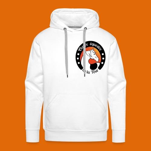 Centre Equestre de la Tour - Sweat-shirt à capuche Premium pour hommes