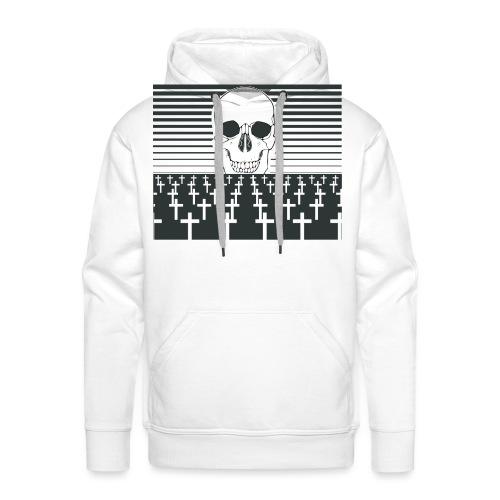 cimetière - Sweat-shirt à capuche Premium pour hommes