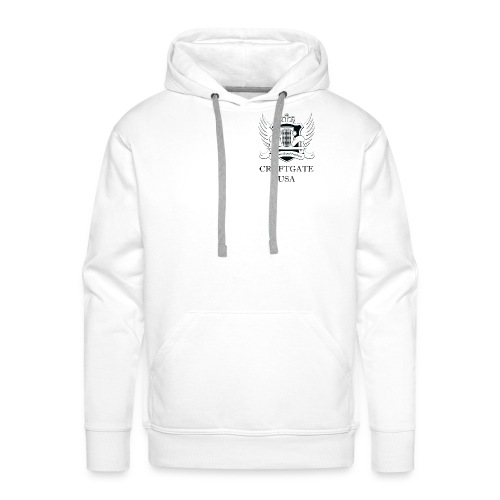 CroftgateUSA Logo - Men's Premium Hoodie