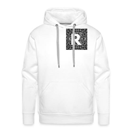 R jpg - Sweat-shirt à capuche Premium pour hommes
