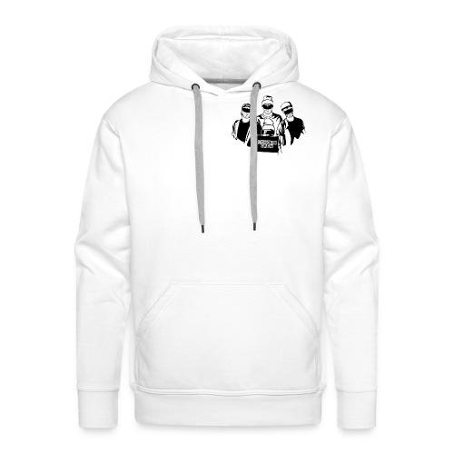 colour crew logo black 11000x9500px png - Männer Premium Hoodie