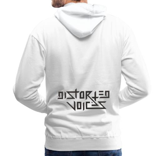 Distorted voices - Mannen Premium hoodie