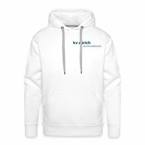 KVZ Logo Blau - Männer Premium Hoodie