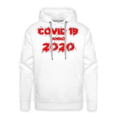 COVID 19 anno 2020 - Männer Premium Hoodie
